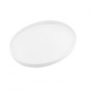 "China Serving Platter 18"" Oval Plain White"