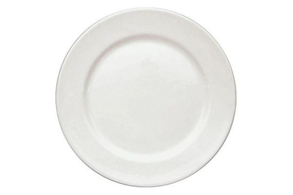 """Dinner Plate 10"""" Plain White (packs of 10)"""