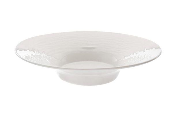 "China Fruit Bowl 12"" Plain White"