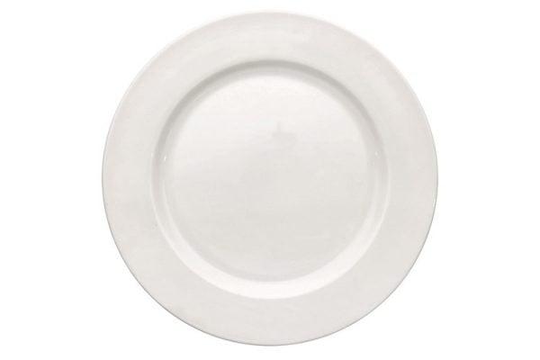 """Dinner Plate 12"""" Plain White (packs of 10)"""