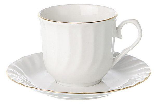 Tea/Coffee Saucer Gold Line (packs of 10)