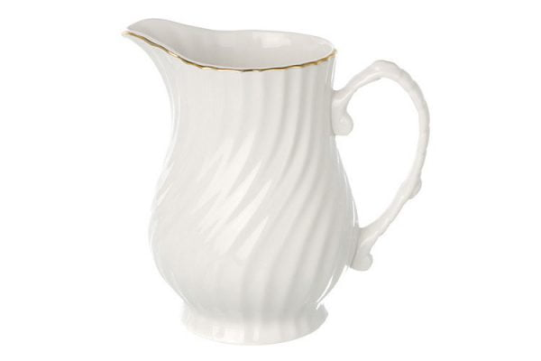 Cream Jug Gold Line