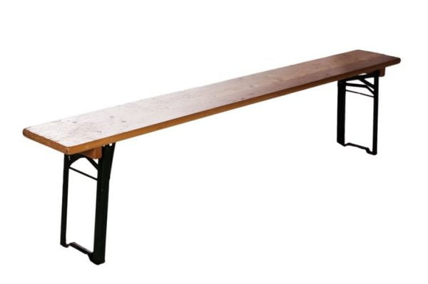 Bench 6ft Long Folding Leg