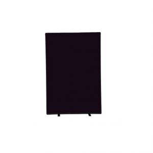 Black Screen Freestanding 6 ft x 4 ft