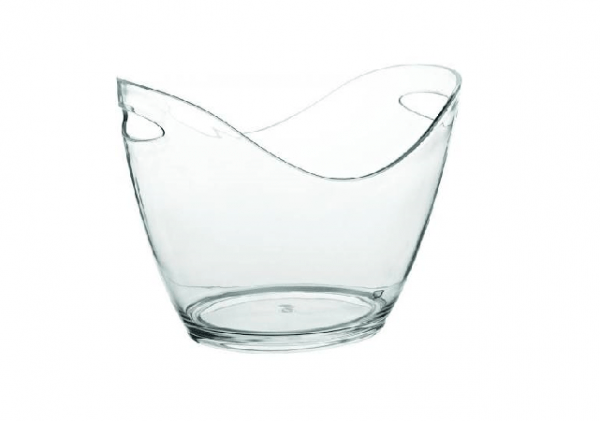 Clear Wine/Champagne Cooling Tub