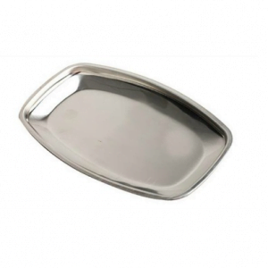 Banana Split/Butter Dish Stainless Steel