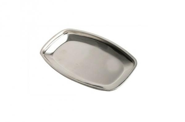 Banana Split/Butter Dish Stainless Steel