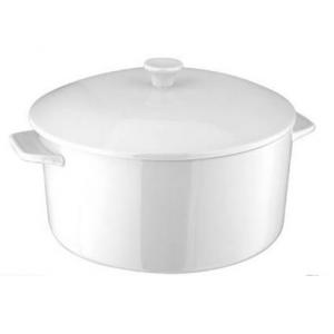Casserole Dish Plain White
