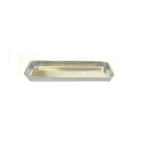 "Rect. Banqueting Dish 19"" x 8"" Stainless Steel"