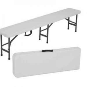 Bench Plastic 6' Long Folding