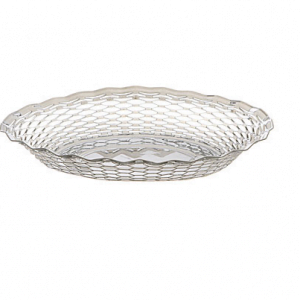 Oval Roll Basket Stainless Steel