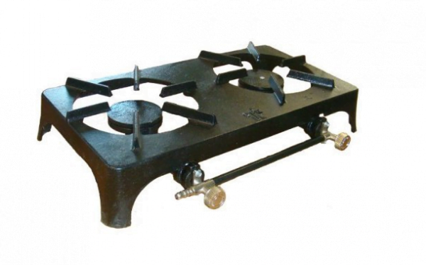 Two Ring Hob Unit (small) - L.P. Gas
