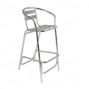 Tall Bar Stool (Aluminium)